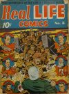 Cover For Real Life Comics 8