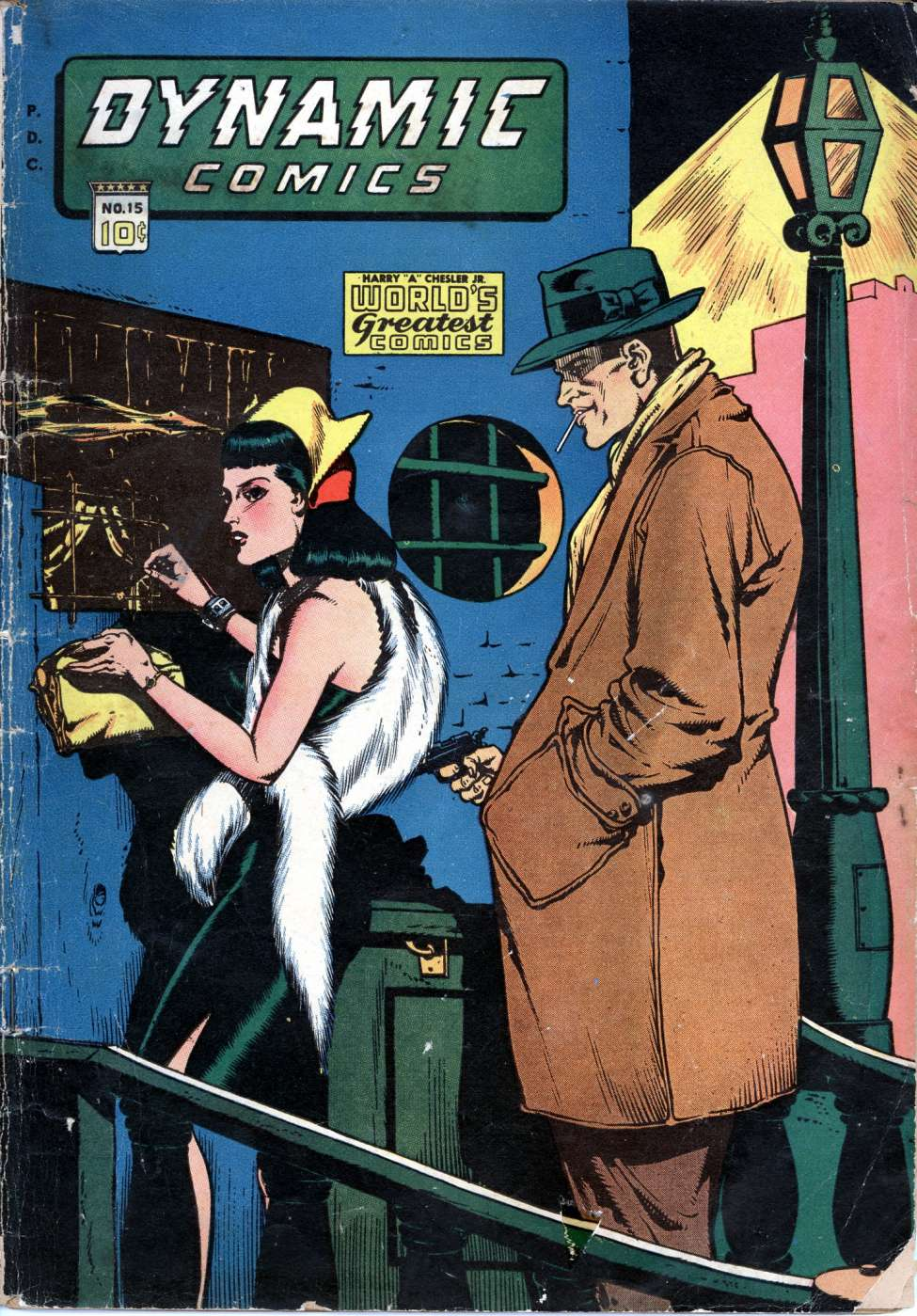 Comic Book Cover For Dynamic Comics #15 - Version 2