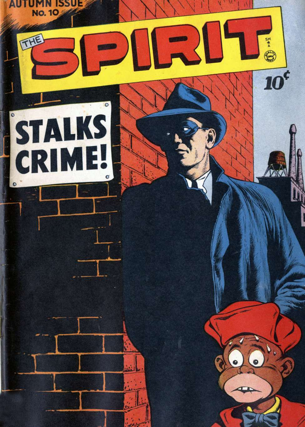 Comic Book Cover For The Spirit #10