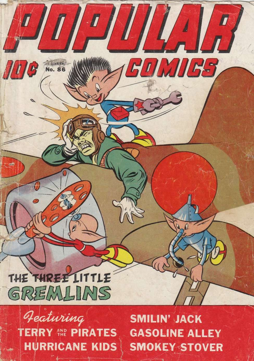 Comic Book Cover For Popular Comics #86