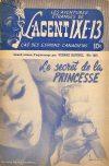 Cover For L'Agent IXE 13 v2 160 Le secret de la princesse