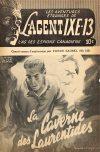 Cover For L'Agent IXE 13 v2 125 La caverne des Laurentides