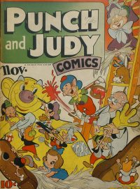 Large Thumbnail For Punch and Judy Comics v2 #4