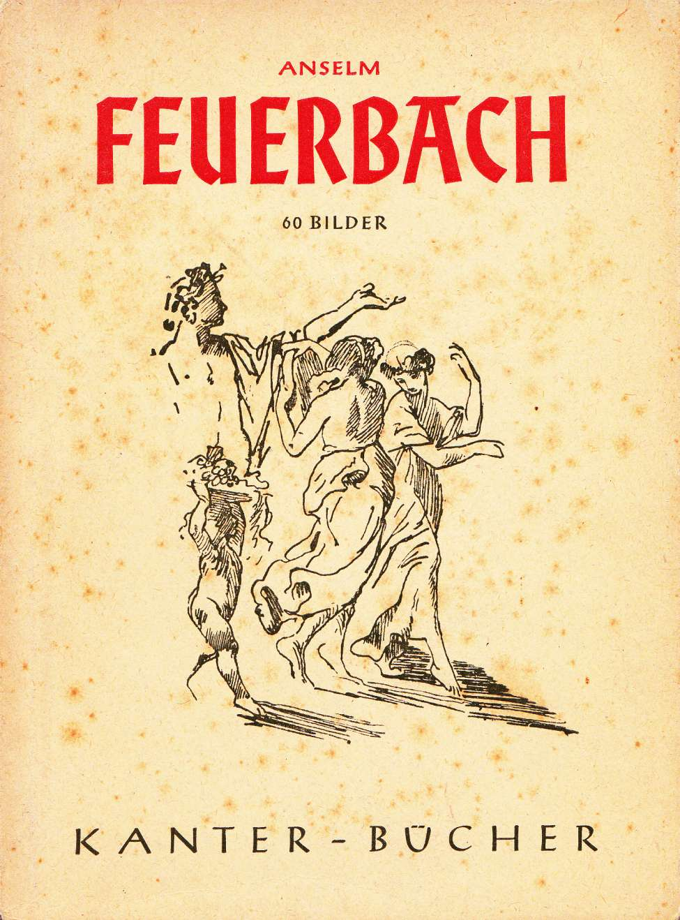 Comic Book Cover For Anselm Feuerbach