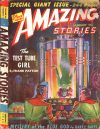 Cover For Amazing Stories v16 1 The Test Tube Girl Frank Patton