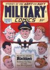 Cover For Military Comics 43 (fiche)