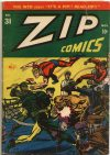 Cover For Zip Comics 31