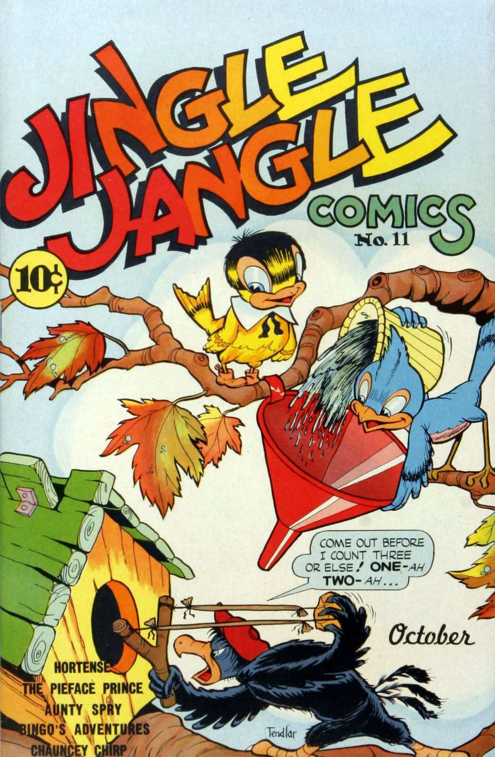 Comic Book Cover For Jingle Jangle Comics #11