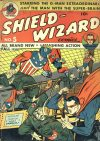 Cover For Shield Wizard Comics 5