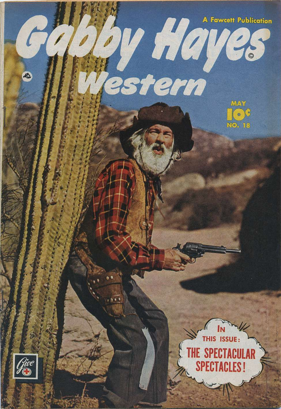 Comic Book Cover For Gabby Hayes Western #18