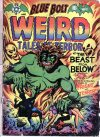 Cover For Blue Bolt Weird Tales of Terror 112