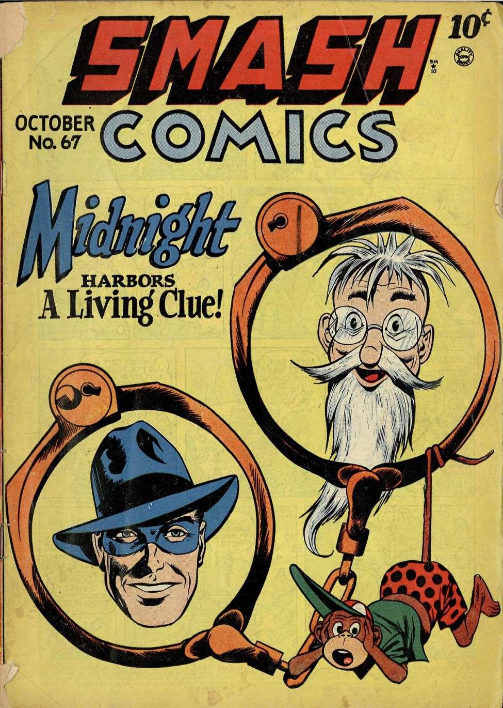 Comic Book Cover For Smash Comics #67