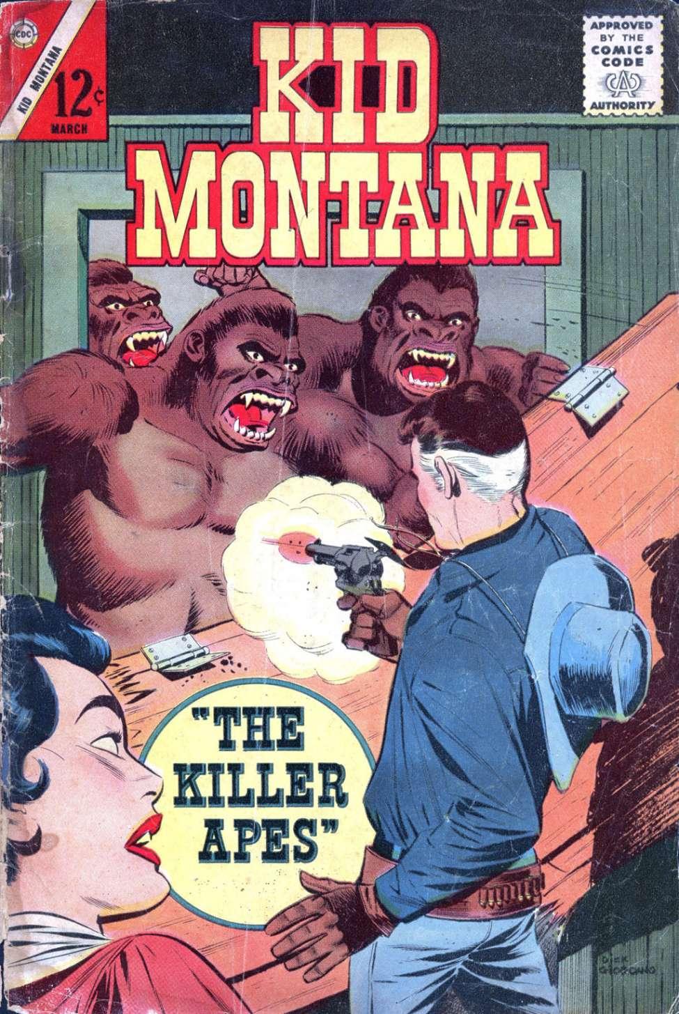 Comic Book Cover For Kid Montana #39