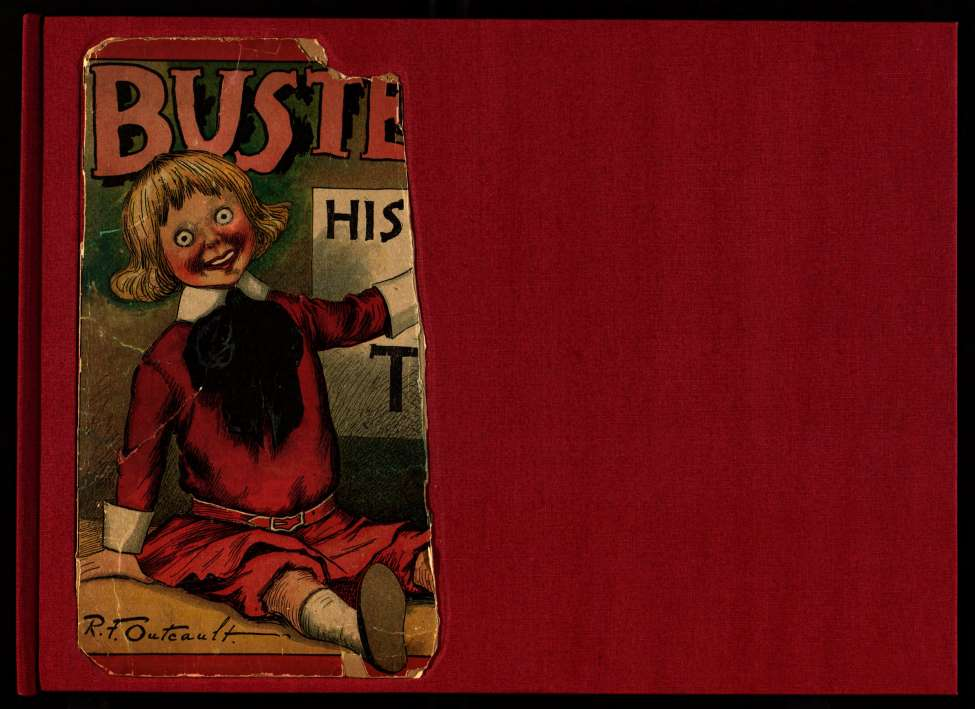 Comic Book Cover For Buster Brown His Dog Tige and Their Troubles