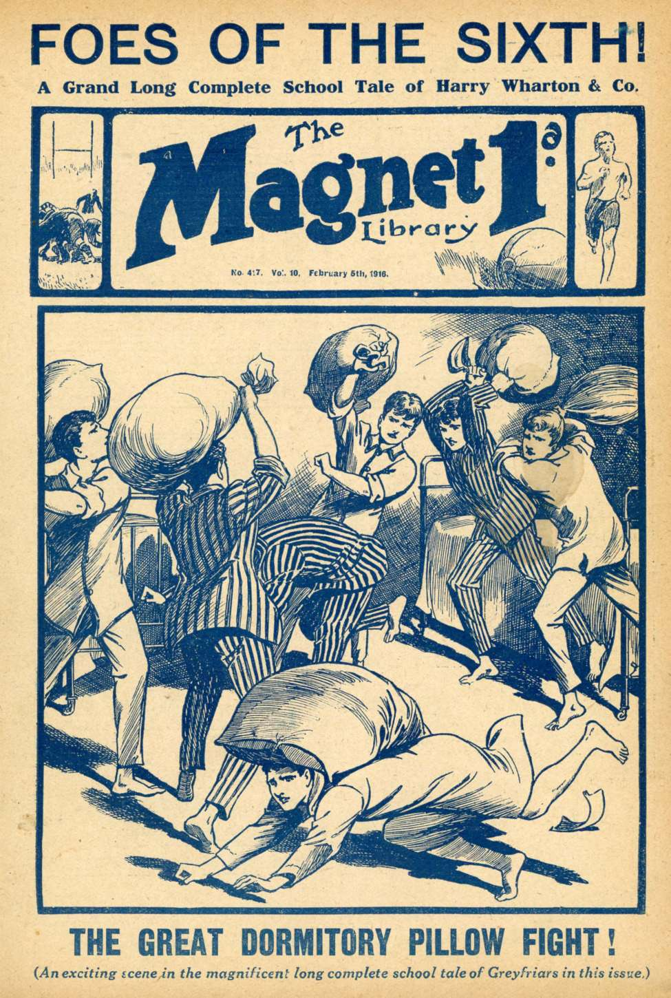 Comic Book Cover For The Magnet 0417 - Foes of the Sixth