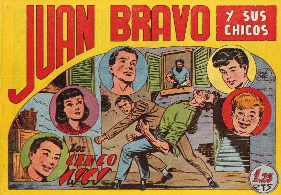 Comic Book Cover For Juan Bravo 12