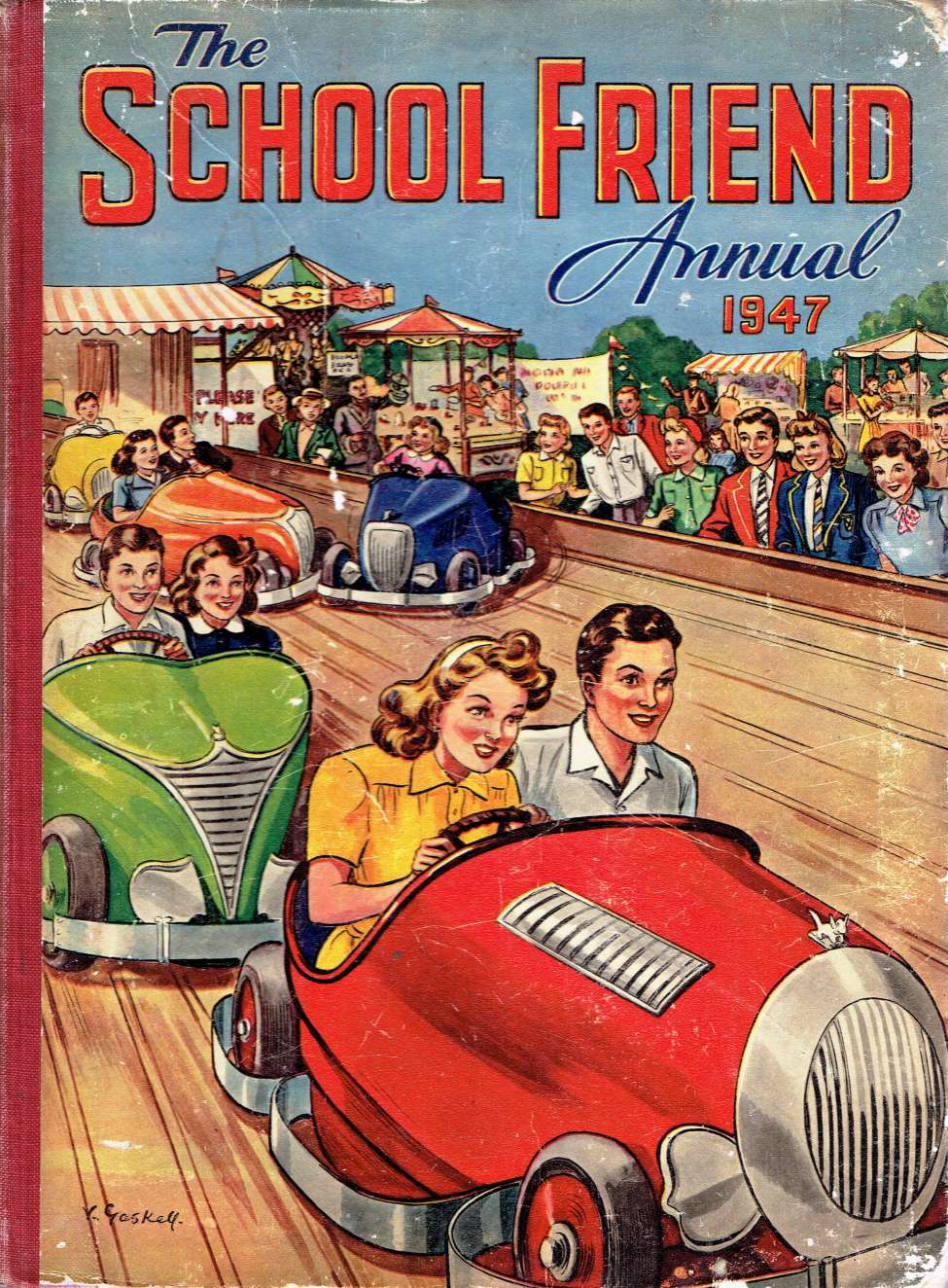 Comic Book Cover For The School Friend Annual 1947 (2 of 2)