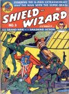 Cover For Shield Wizard Comics 3