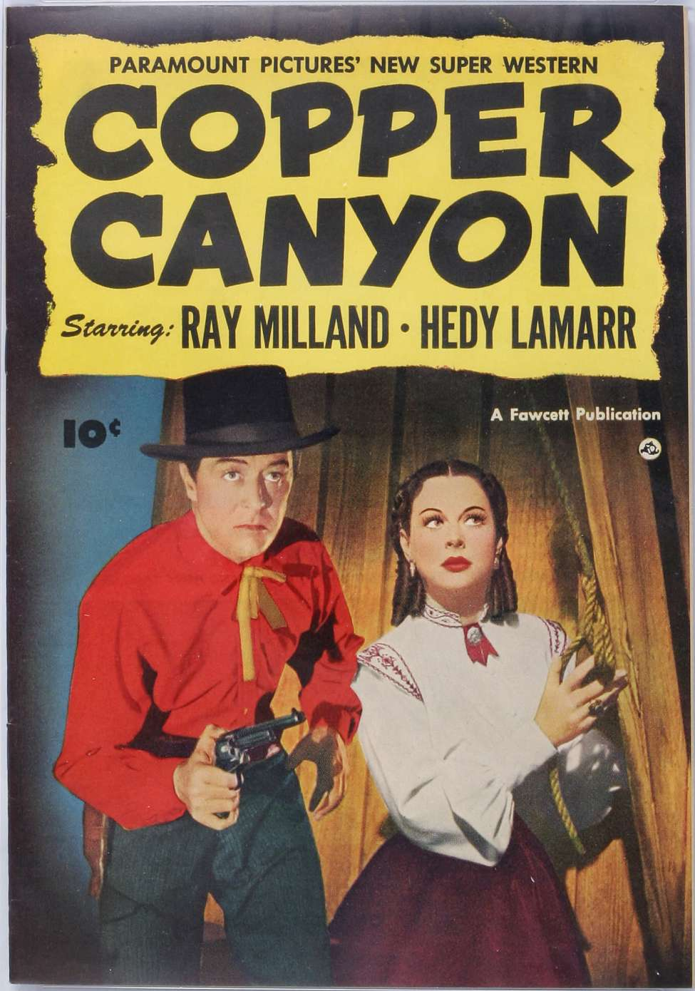 Comic Book Cover For Copper Canyon [nn]