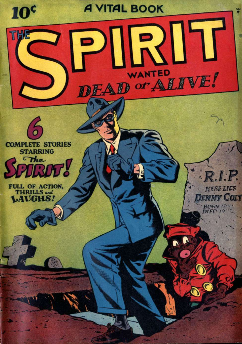 Comic Book Cover For The Spirit [1]