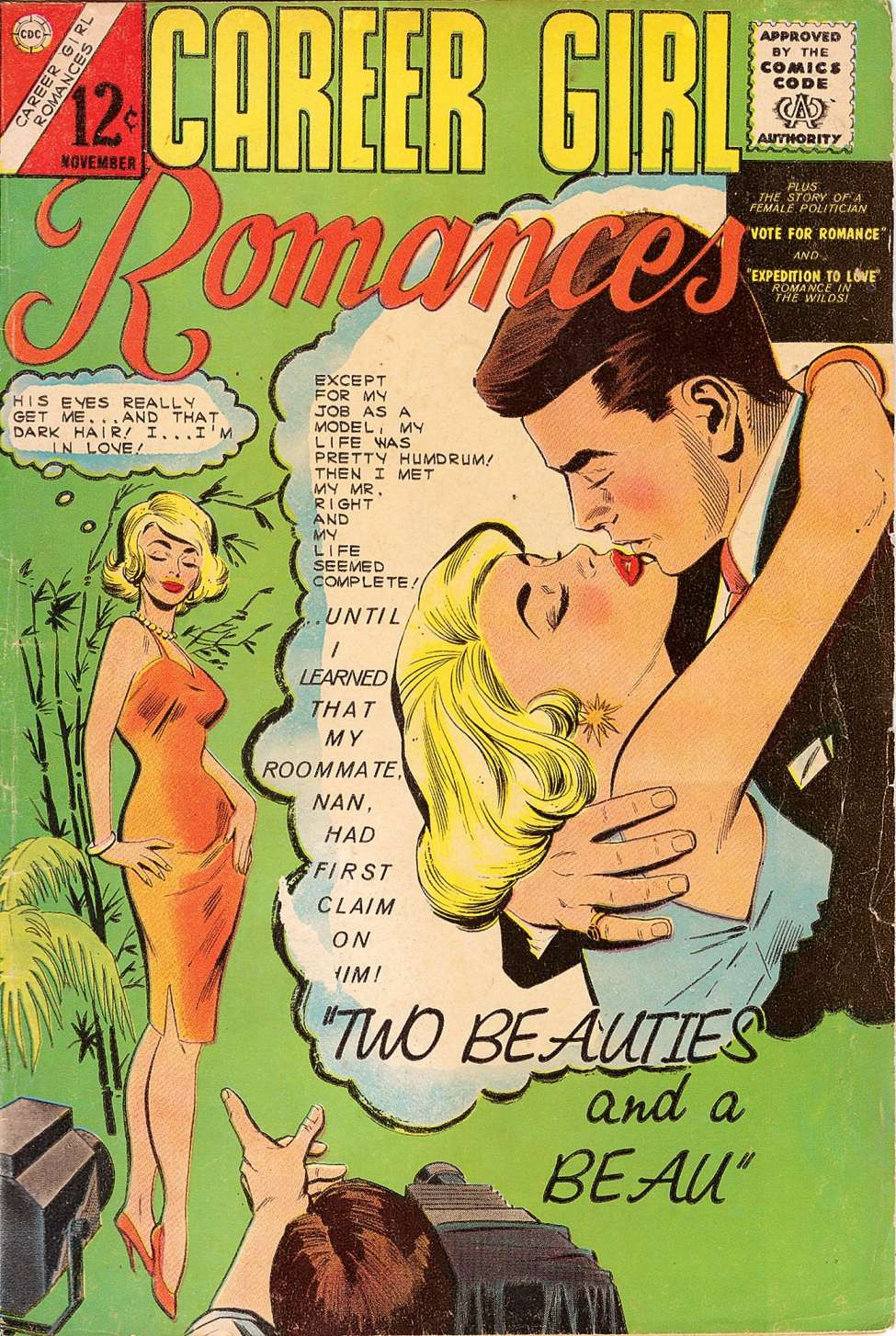 Comic Book Cover For Career Girl Romances #26
