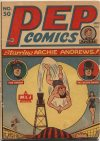 Cover For Pep Comics 50