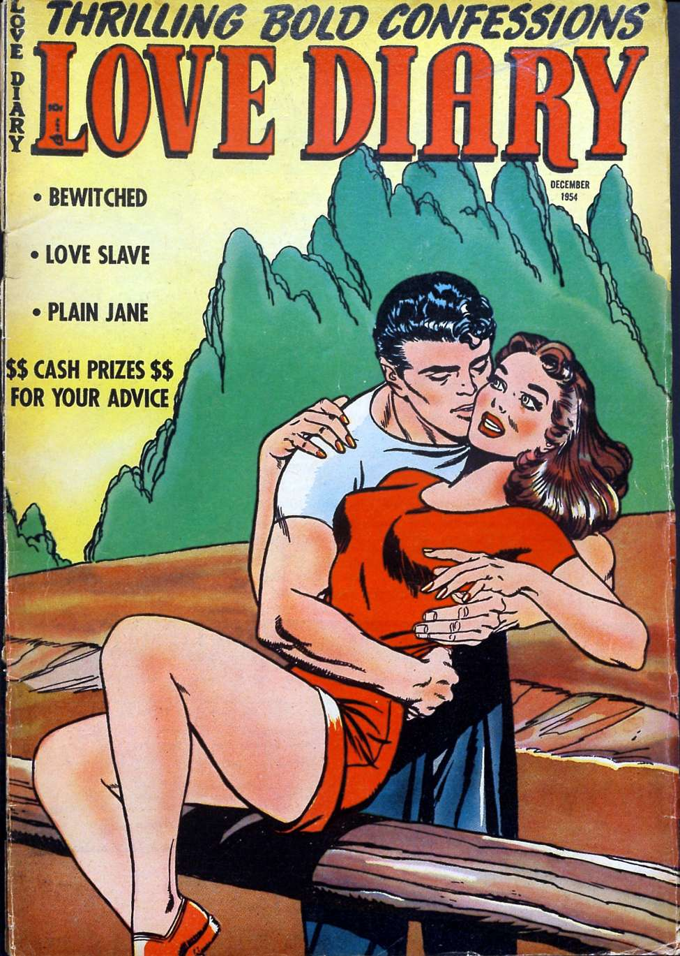 Comic Book Cover For Love Diary #47