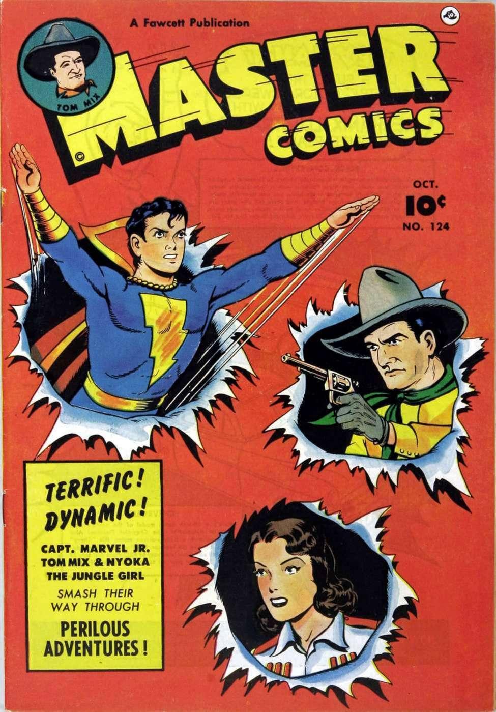 Comic Book Cover For Capt. Marvel Jnr Compilation Vol 20