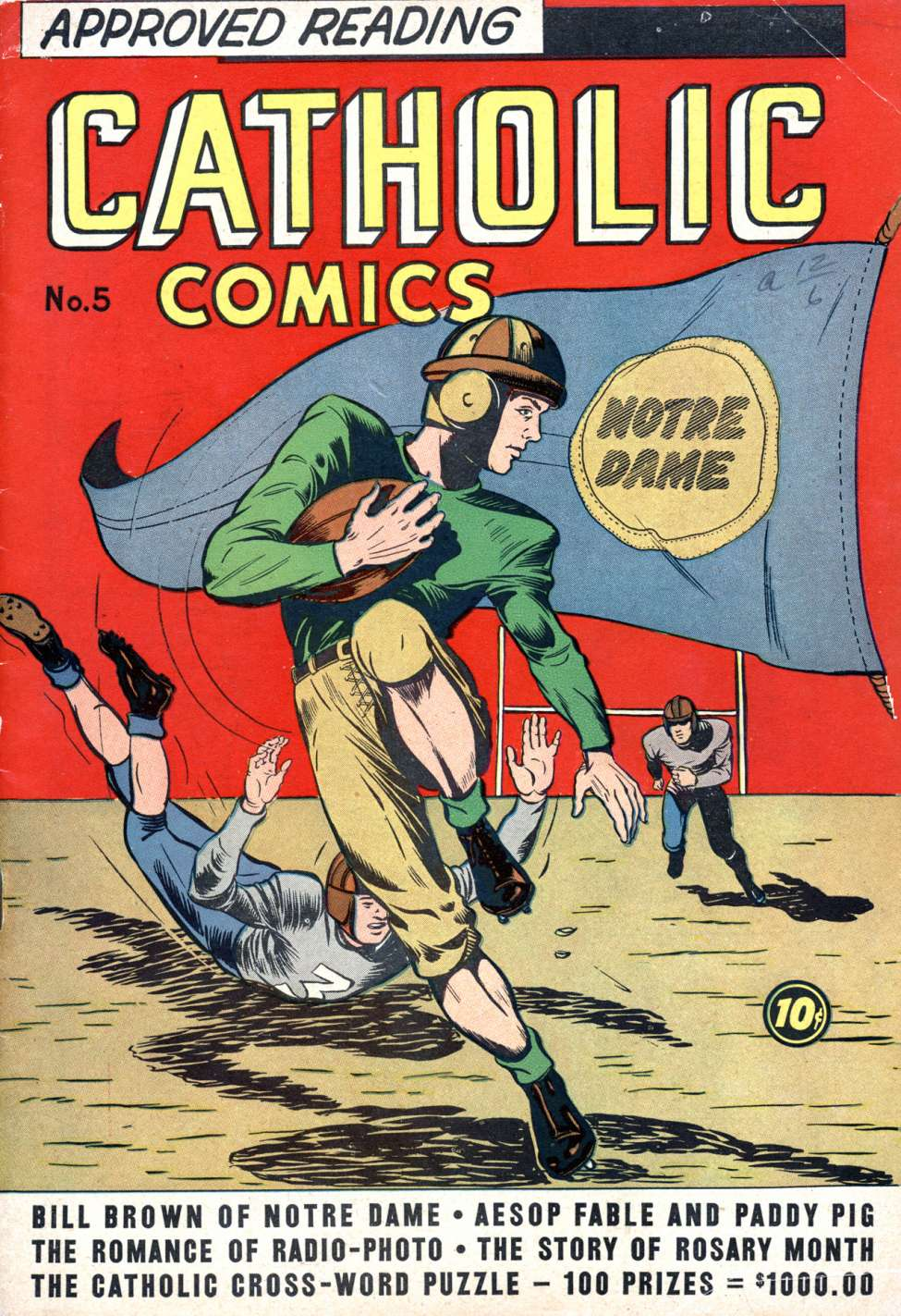 Comic Book Cover For Catholic Comics v1 #5