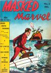 Cover For Masked Marvel 3