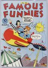 Cover For Famous Funnies 99