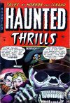 Cover For Haunted Thrills 13