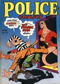 Large Thumbnail For Police Comics #29