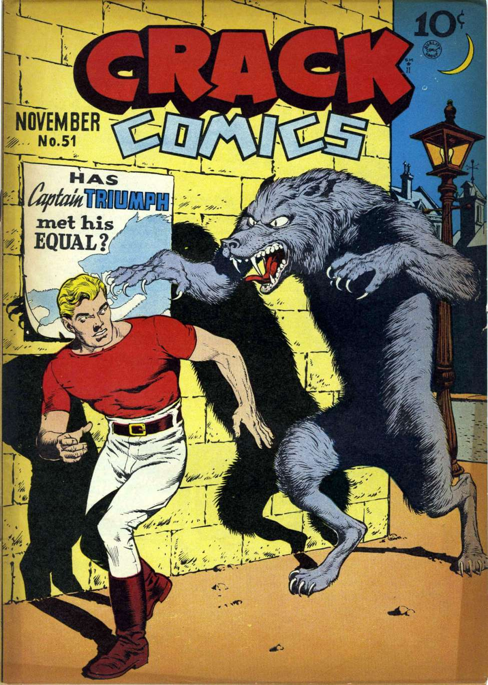 Comic Book Cover For Crack Comics #51 - Version 1