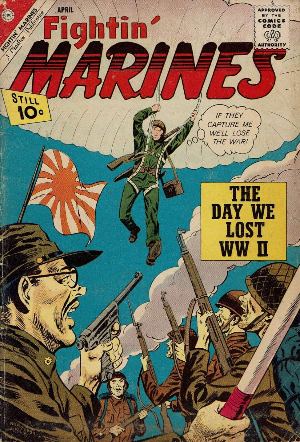 Comic Book Cover For Fightin' Marines #46