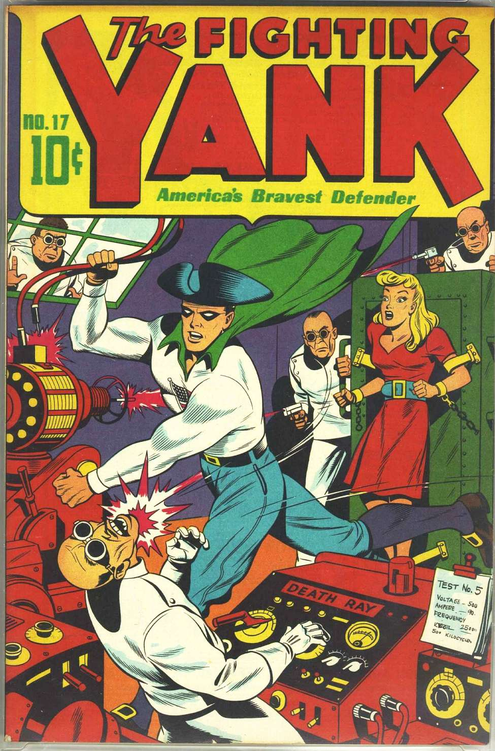 Comic Book Cover For Fighting Yank Archive part 2a