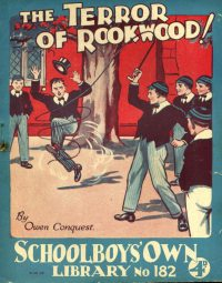 Large Thumbnail For Schoolboys' Own Library 182 - The Terror of Rookwood