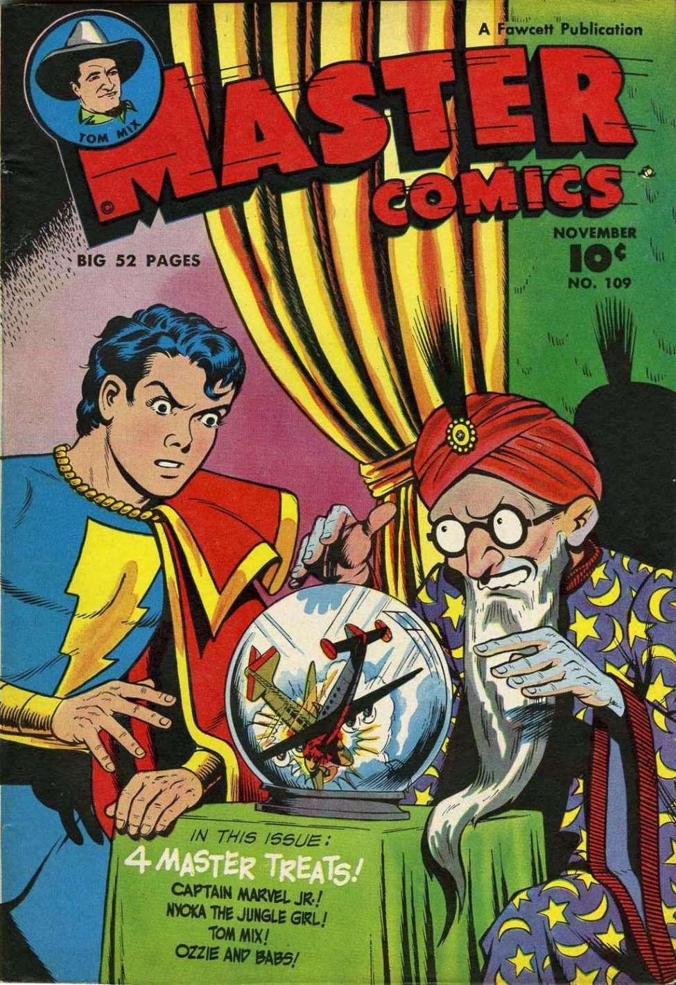 Comic Book Cover For Capt. Marvel Jnr Compilation Vol 17
