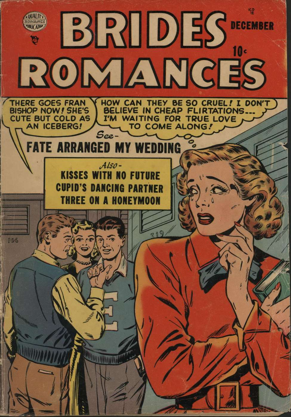 Comic Book Cover For Brides Romances #2