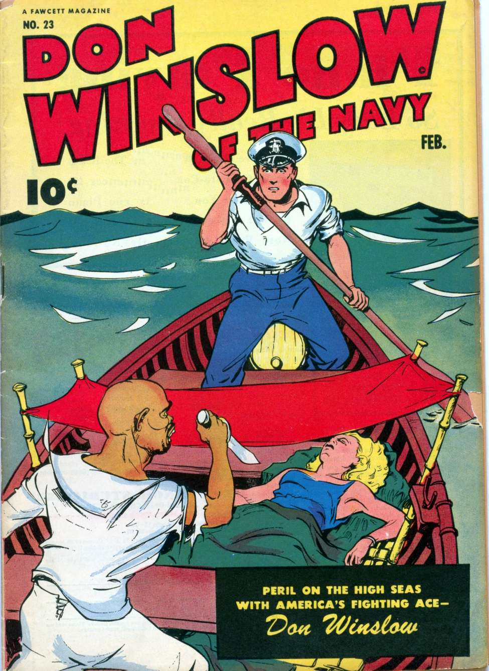 Comic Book Cover For Don Winslow of the Navy #23