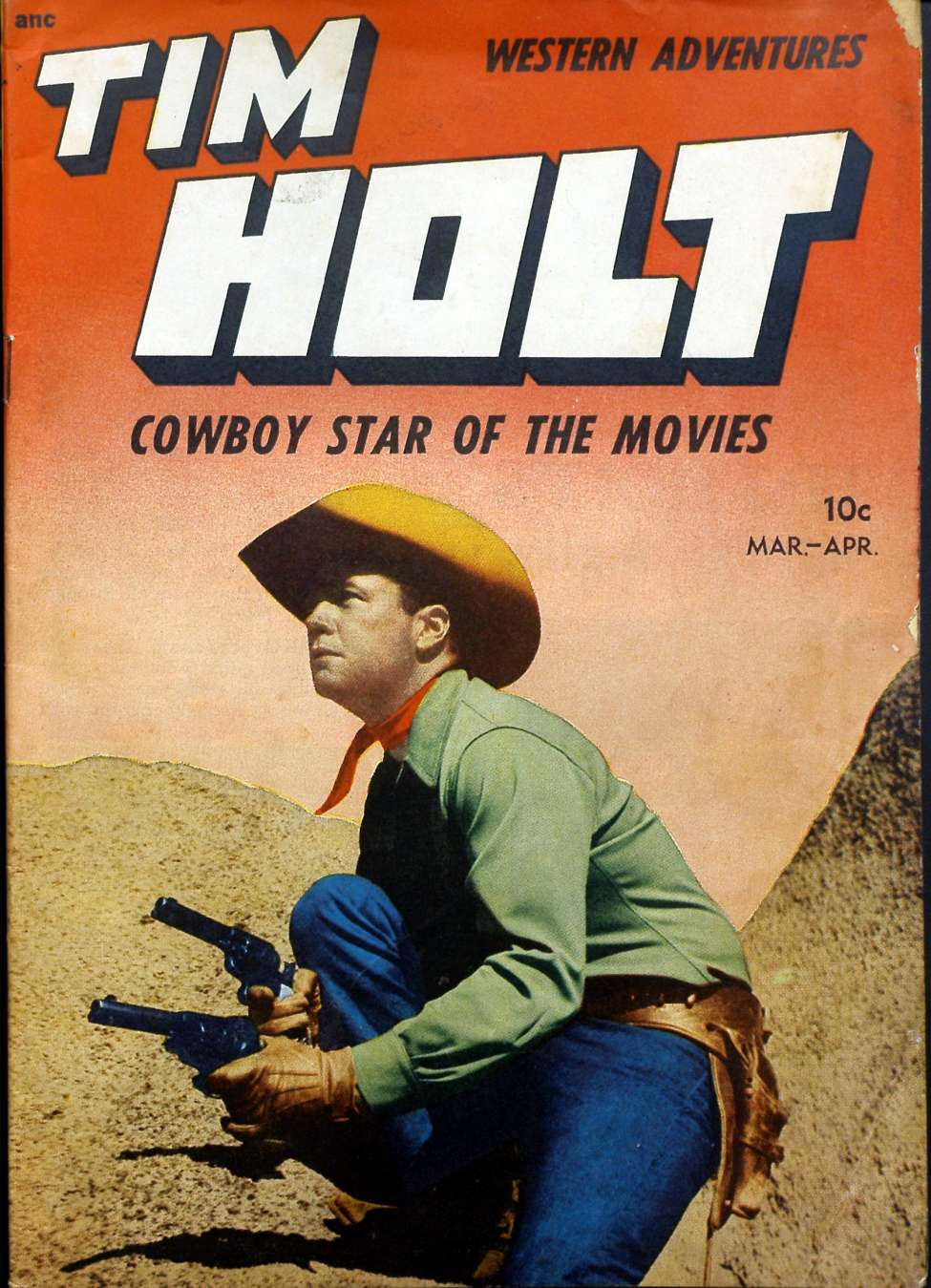 Comic Book Cover For Tim Holt #5