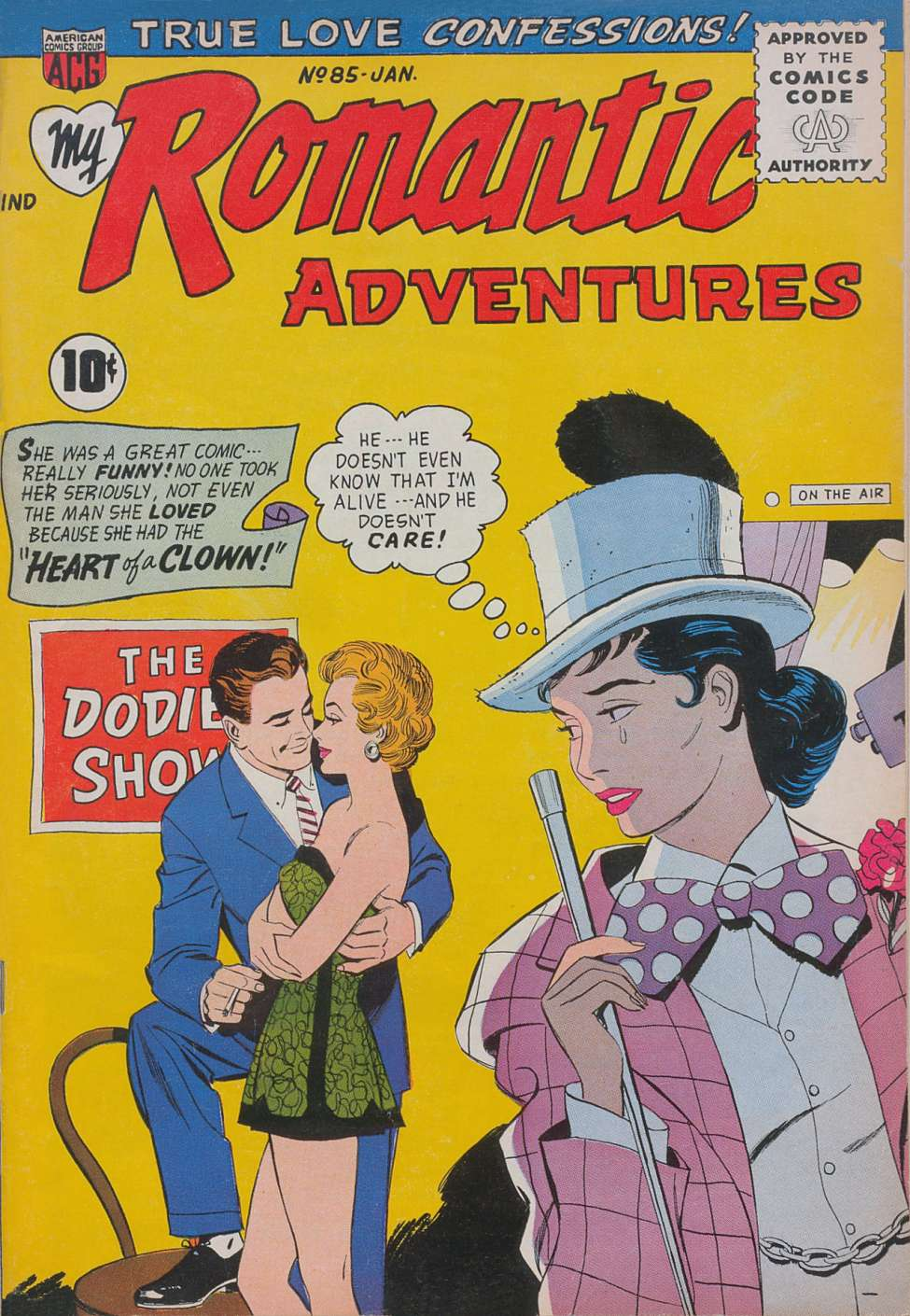 Comic Book Cover For My Romantic Adventures #85