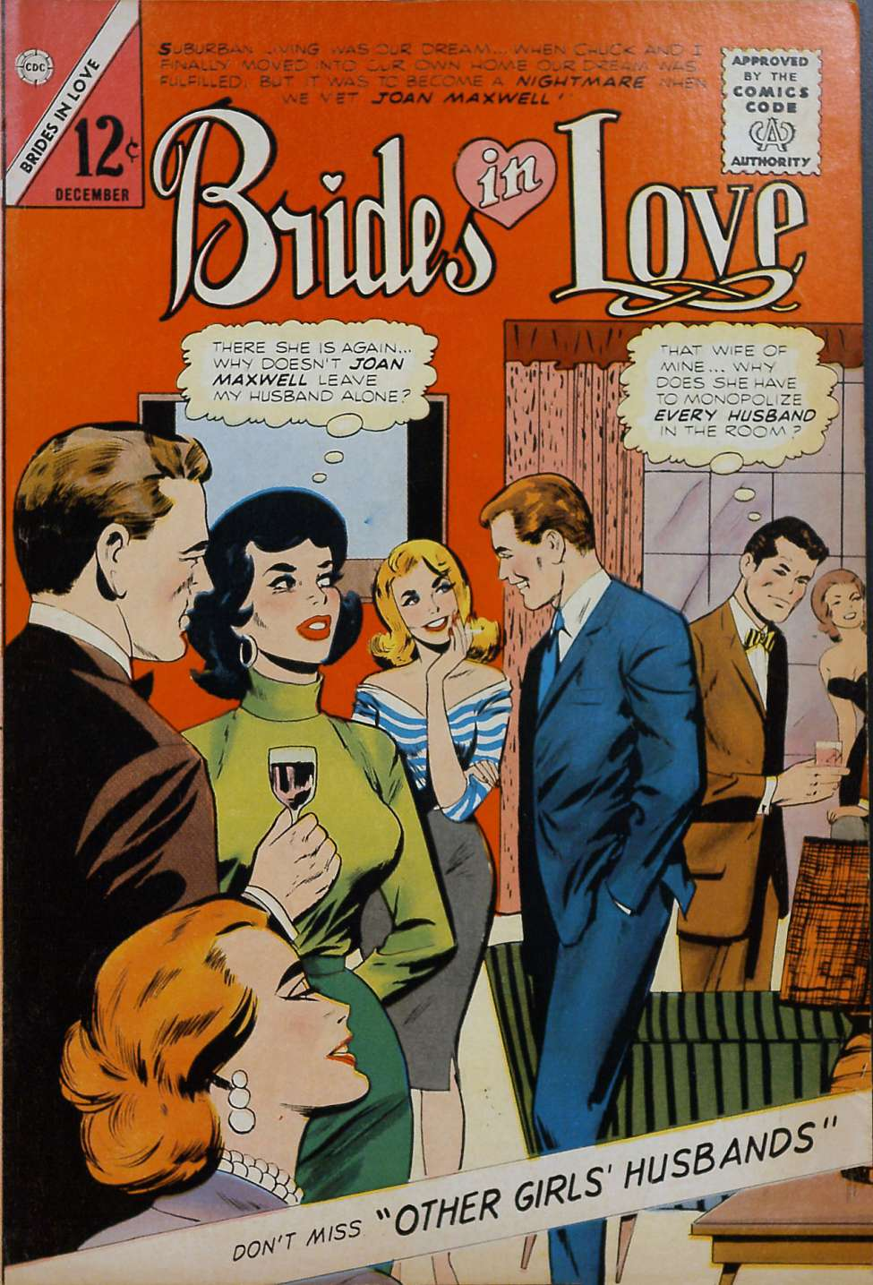 Comic Book Cover For Brides in Love #44