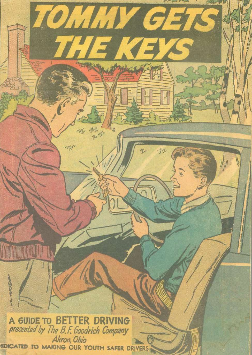 Comic Book Cover For Tommy Gets the Keys