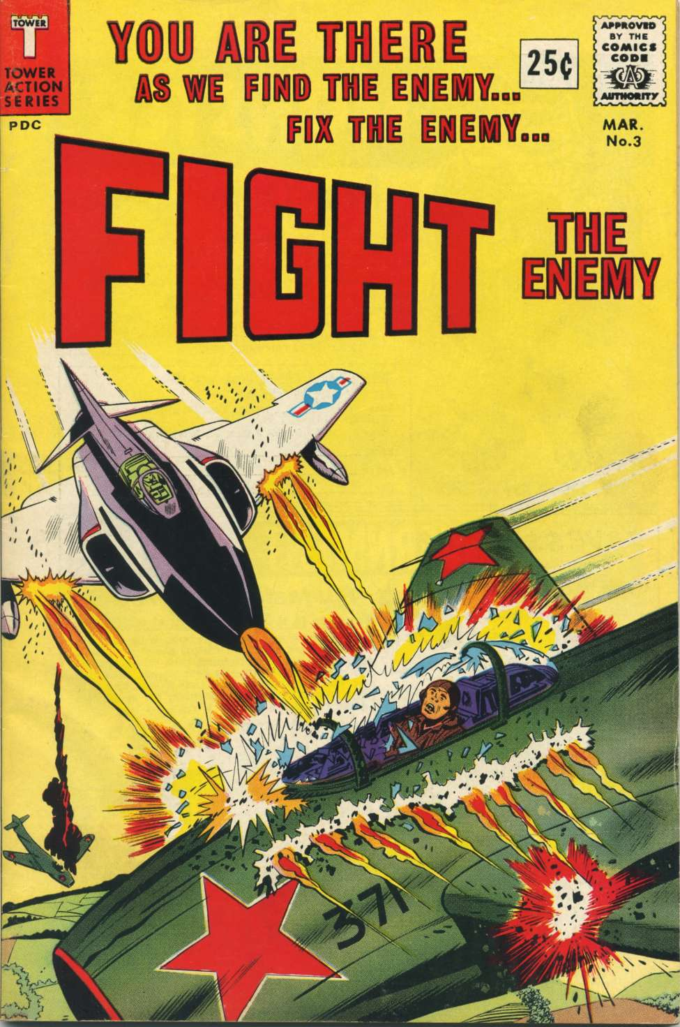 Comic Book Cover For Fight the Enemy #3