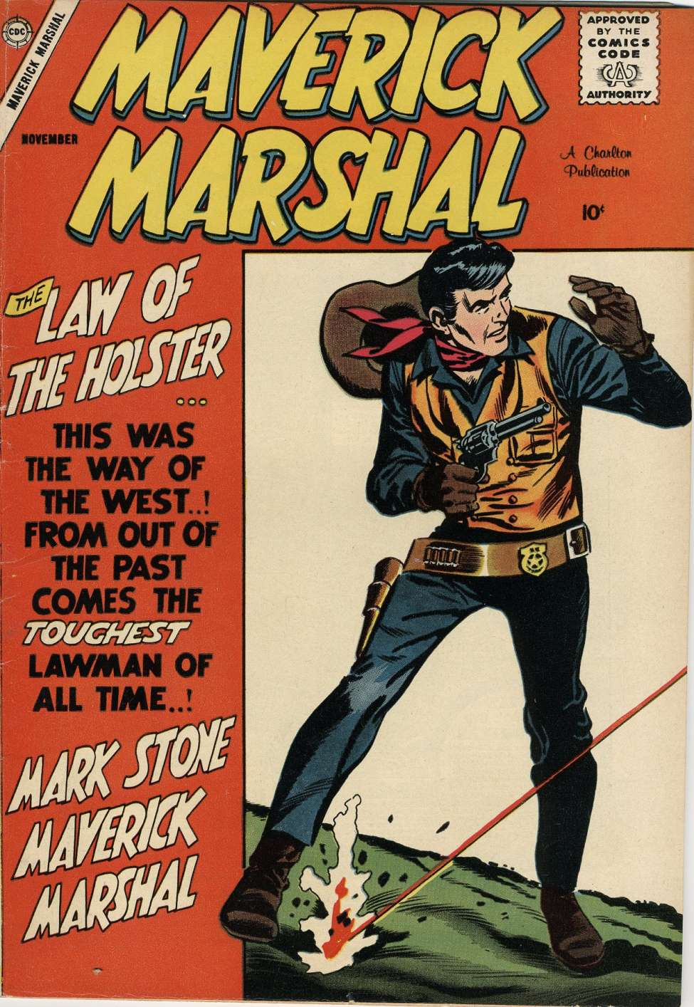 Comic Book Cover For Maverick Marshal #1