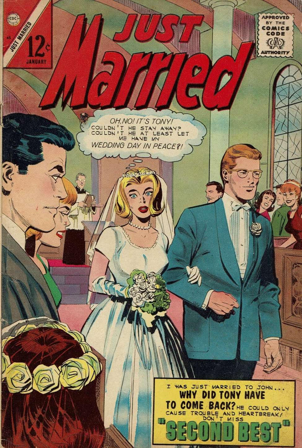 Comic Book Cover For Just Married #45