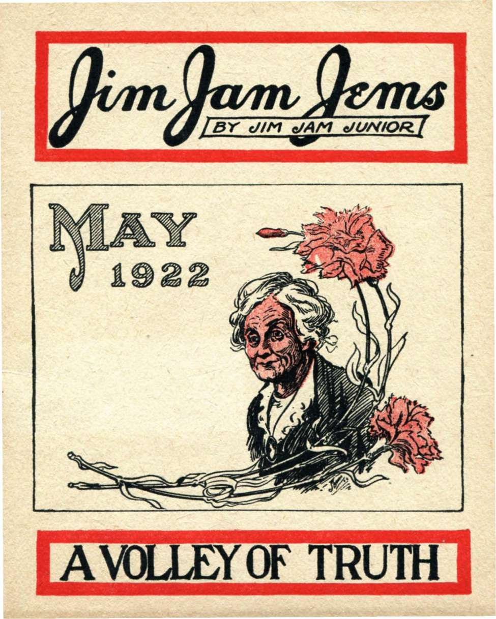 Comic Book Cover For Jim Jam Jems (1922-05)