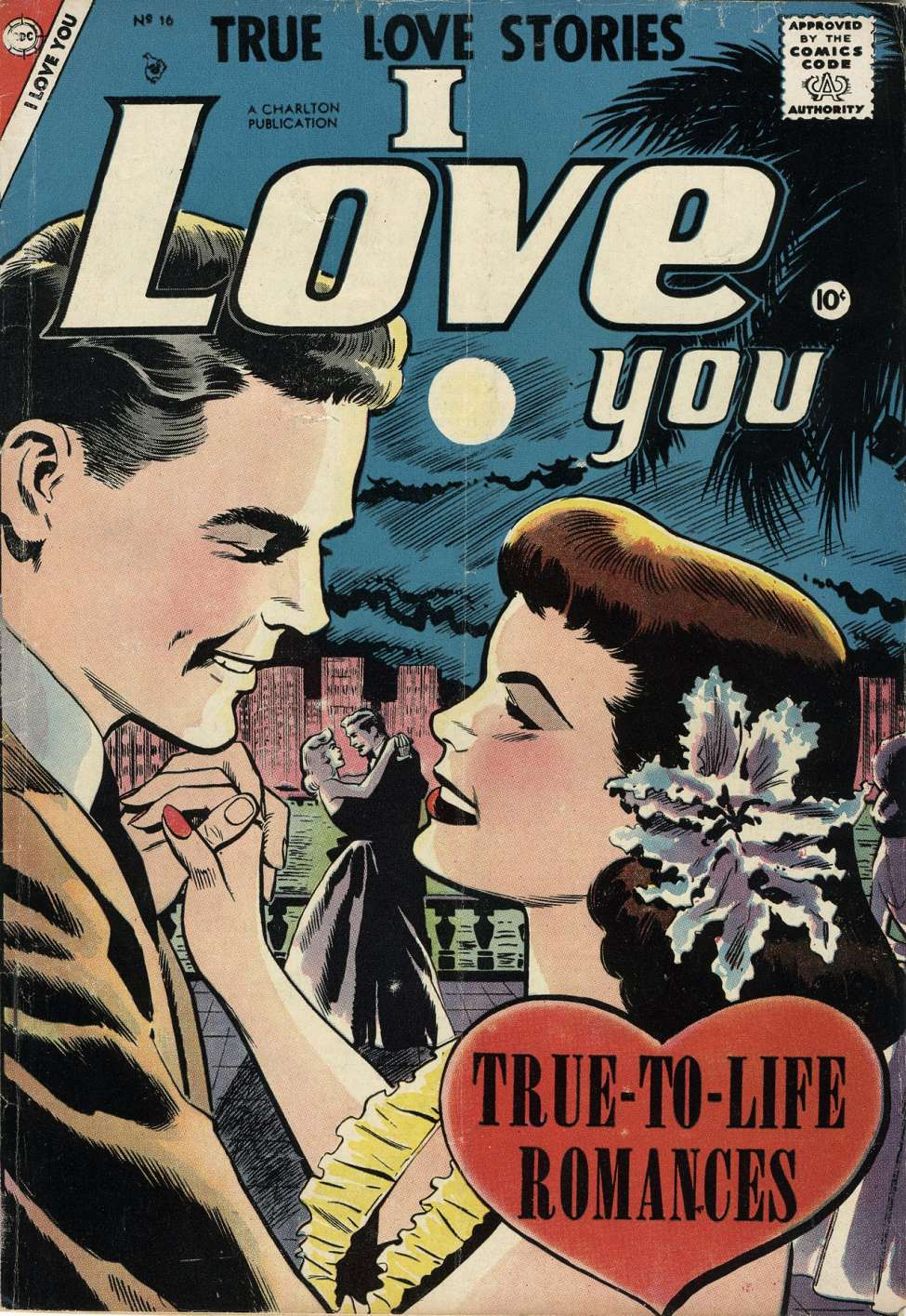 Comic Book Cover For I Love You #16