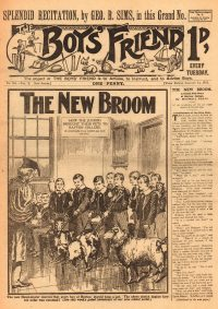 Large Thumbnail For The Boys' Friend 0501 - The New Broom
